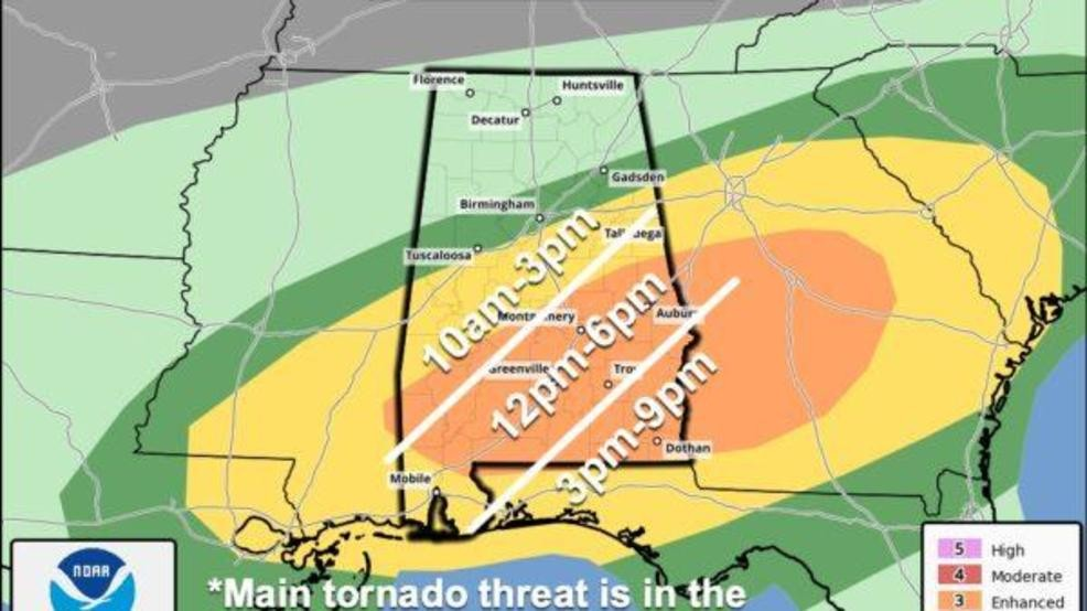 The Weather Authority | Today's Severe Weather Threat In