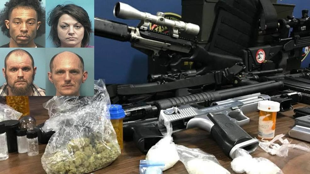 4 charged in Shelby County drug bust after 7-month undercover