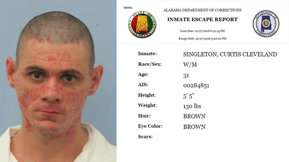 Authorities recaptured escaped Mobile Work Release Center