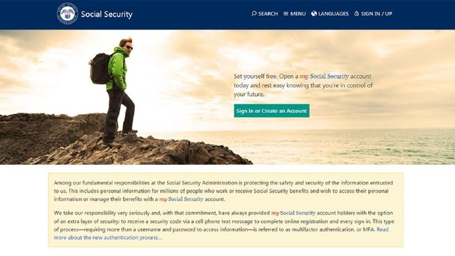 Social Security Administration now requires text message security