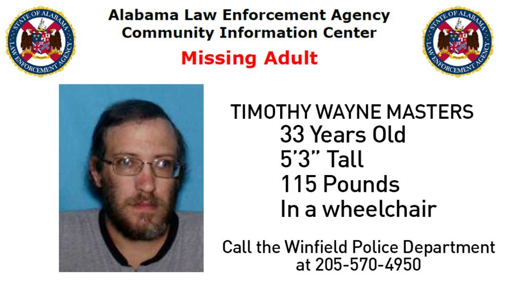 Winfield Police ask for help finding missing man | WBMA