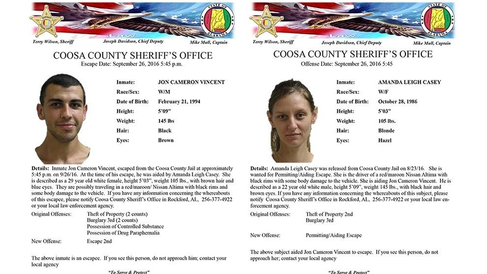 Coosa County Sheriff's Office searching for woman who helped