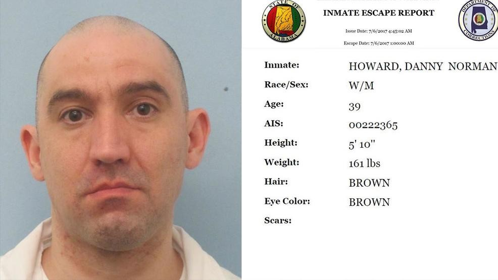 Mobile inmate captured after escaping from work release