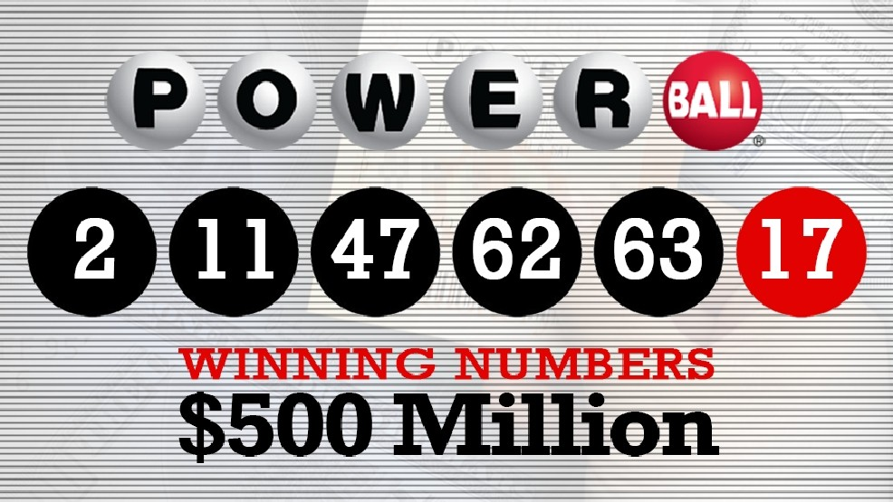 Powerball Jackpot Winning Numbers Wednesday Jan 6 2016 Wbma