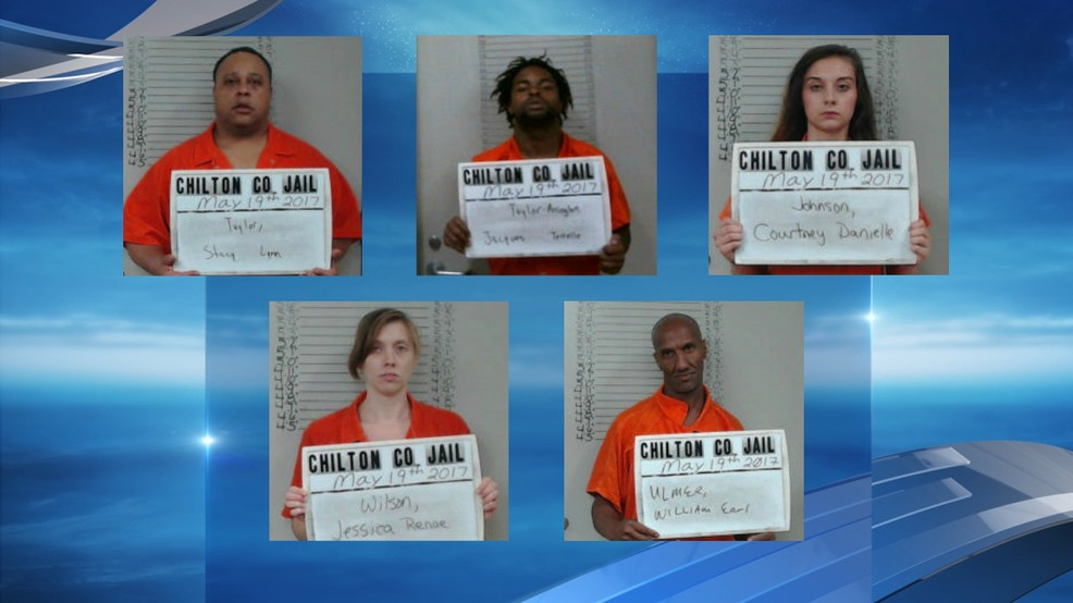 Chilton County drug search results in five arrests | WBMA